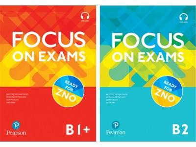 Новий посібник - Focus on Exams рівнів B1+ та B2