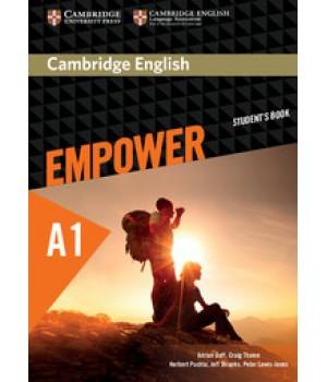 Підручник Cambridge English Empower A1 Starter Student's Book
