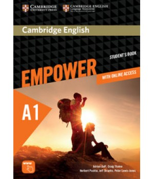 Підручник Cambridge English Empower A1 Starter Student's Book with Online Assessment, Practice, and Workbook