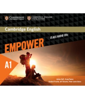 Диски Cambridge English Empower A1 Starter Class Audio CDs