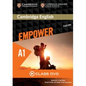 Диск Cambridge English Empower A1 Starter Class DVD
