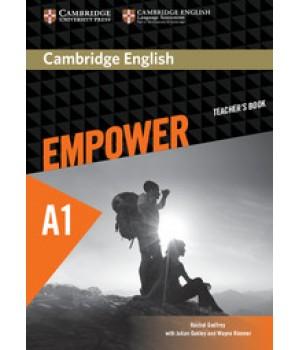 Книга для вчителя Cambridge English Empower A1 Starter Teacher's Book