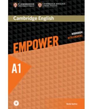 Робочий зошит Cambridge English Empower A1 Starter Workbook with Answers with Downloadable Audio