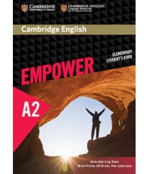 Підручник Cambridge English Empower A2 Elementary Student's Book