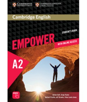 Підручник Cambridge English Empower A2 Elementary Student's Book with Online Assessment, Practice, and Workbook