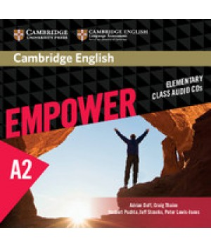 Диски Cambridge English Empower A2 Elementary Class Audio CDs