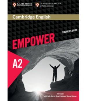 Книга для вчителя Cambridge English Empower A2 Elementary Teacher's Book