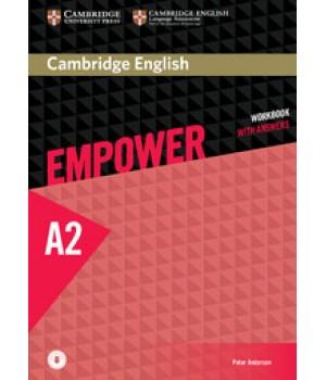 Робочий зошит Cambridge English Empower A2 Elementary Workbook with Answers with Downloadable Audio