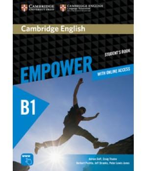 Підручник Cambridge English Empower B1 Pre-Intermediate Student's Book with Online Assessment, Practice, and Workbook
