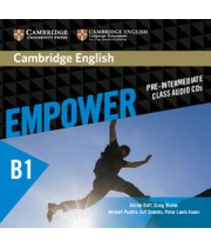 Диски Cambridge English Empower B1 Pre-Intermediate Class Audio CDs