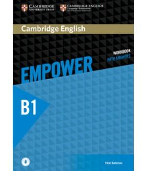 Робочий зошит Cambridge English Empower B1 Pre-Intermediate Workbook with Answers with Downloadable Audio