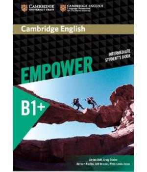 Підручник Cambridge English Empower B1+ Intermediate Student's Book