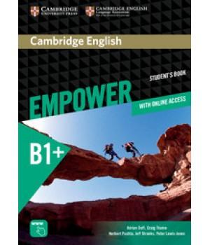 Підручник Cambridge English Empower B1+ Intermediate Student's Book with Online Assessment, Practice, and Workbook