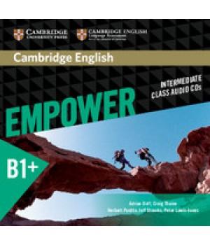 Диски Cambridge English Empower B1+ Intermediate Class Audio CDs