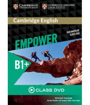 Диск Cambridge English Empower B1+ Intermediate Class DVD