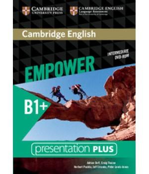 Диск Cambridge English Empower B1+ Intermediate Presentation Plus DVD-ROM