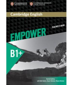 Книга для вчителя Cambridge English Empower B1+ Intermediate Teacher's Book