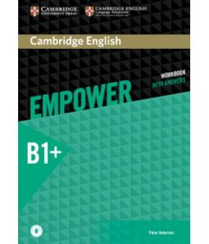 Робочий зошит Cambridge English Empower B1+ Intermediate Workbook with Answers with Downloadable Audio