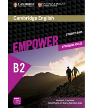 Підручник Cambridge English Empower B2 Upper-Intermediate Student's Book with Online Assessment, Practice, and Workbook