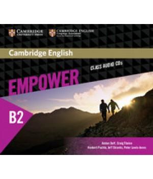 Диски Cambridge English Empower B2 Upper-Intermediate Class Audio CDs