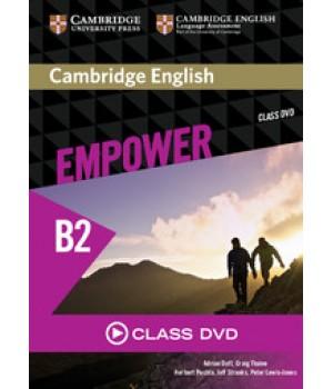 Диск Cambridge English Empower B2 Upper-Intermediate Class DVD