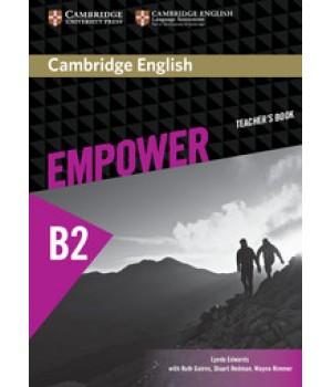 Книга для вчителя Cambridge English Empower B2 Upper-Intermediate Teacher's Book