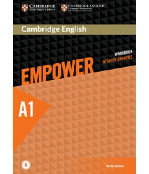 Робочий зошит Cambridge English Empower A1 Starter Workbook without Answers with Downloadable Audio