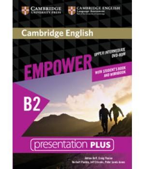 Диск Cambridge English Empower B2 Upper-Intermediate Presentation Plus DVD-ROM