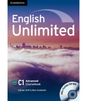 Підручник English Unlimited Advanced Coursebook with e-Portfolio