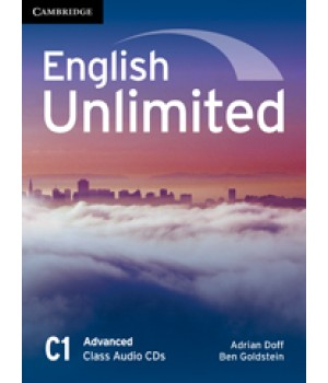 Диски English Unlimited Advanced Class Audio CDs (3)