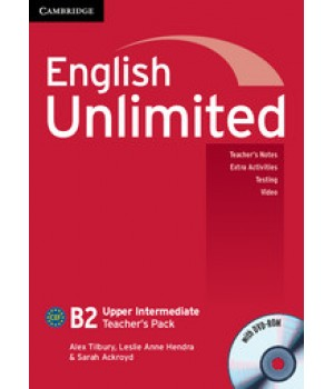 Книга для вчителя English Unlimited Upper-Intermediate Teacher's Pack ( with DVD-ROM)