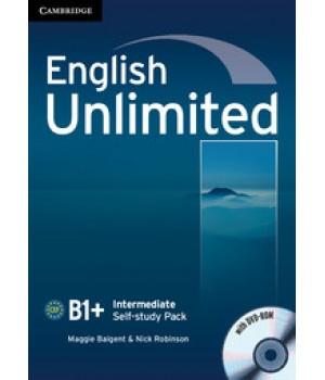 Робочий зошит English Unlimited Intermediate Self-study Pack (Workbook with DVD-ROM)