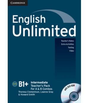 Книга для вчителя English Unlimited Intermediate Teacher's Pack ( with DVD-ROM)