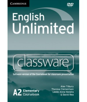 Диск English Unlimited Elementary Classware DVD-ROM