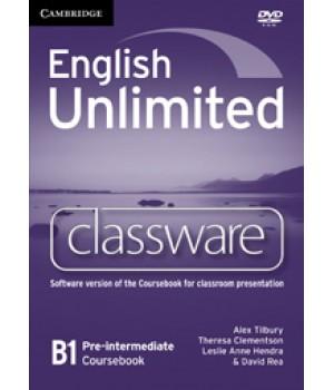 Диск English Unlimited Pre-intermediate Classware DVD-ROM