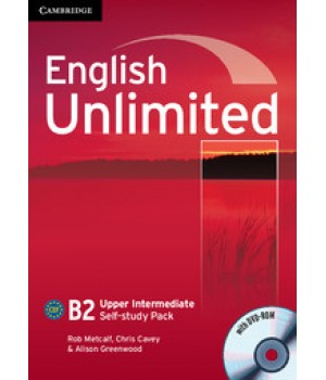 Робочий зошит English Unlimited Upper-Intermediate Self-study Pack (Workbook with DVD-ROM)