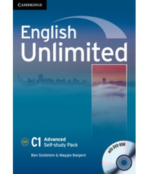 Робочий зошит English Unlimited Advanced Self-study Pack (Workbook with DVD-ROM)