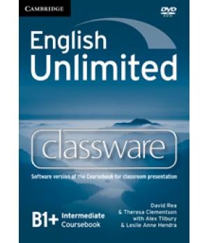 Диск English Unlimited Intermediate Classware DVD-ROM