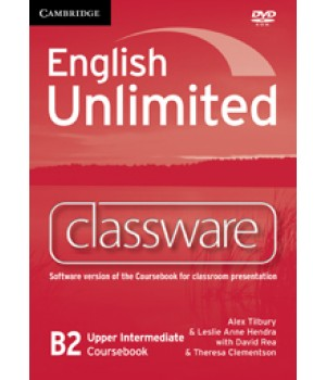 Диск English Unlimited Upper-Intermediate Classware DVD-ROM