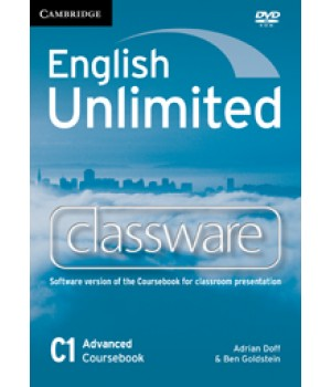 Диск English Unlimited Advanced Classware DVD-ROM