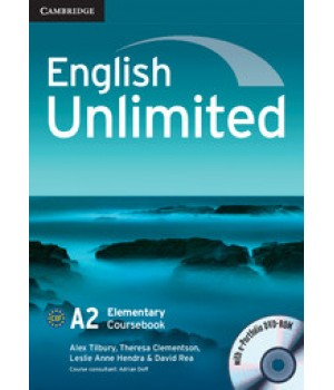 Підручник English Unlimited Elementary Coursebook with e-Portfolio