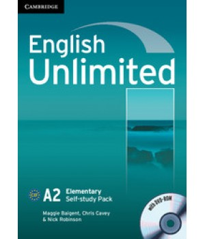 Робочий зошит English Unlimited Elementary Self-study Pack (Workbook with DVD-ROM)