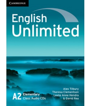 Диски English Unlimited Elementary Class Audio CDs (3)