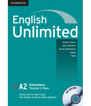 Книга для вчителя English Unlimited Elementary Teacher's Pack ( with DVD-ROM)
