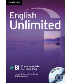 Робочий зошит English Unlimited Pre-intermediate Self-study Pack (Workbook with DVD-ROM)