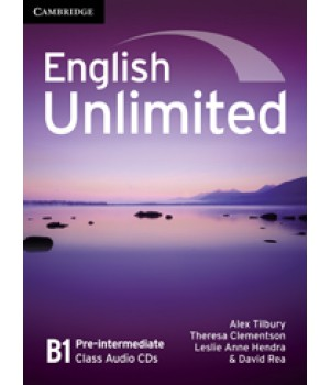 Диски English Unlimited Pre-intermediate Class Audio CDs (3)