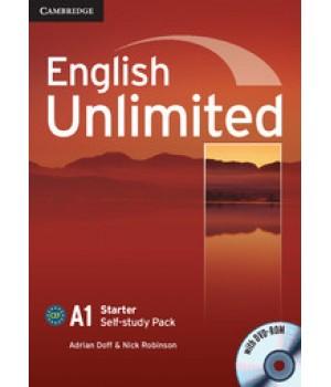 Рабочая тетрадь English Unlimited Starter Self-study Pack (Workbook with DVD-ROM)