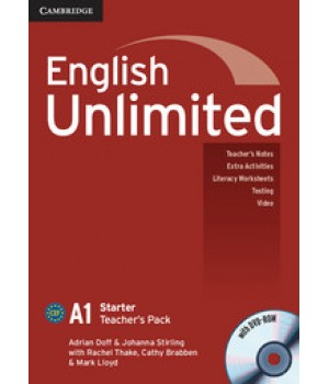 Книга для учителя English Unlimited Starter Teacher's Pack ( with DVD-ROM)