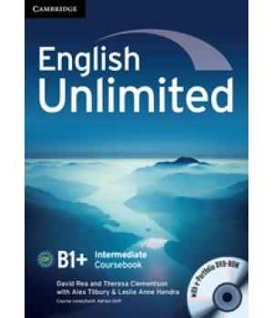 Підручник English Unlimited Intermediate Coursebook with e-Portfolio