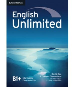 Диски English Unlimited Intermediate Class Audio CDs (3)